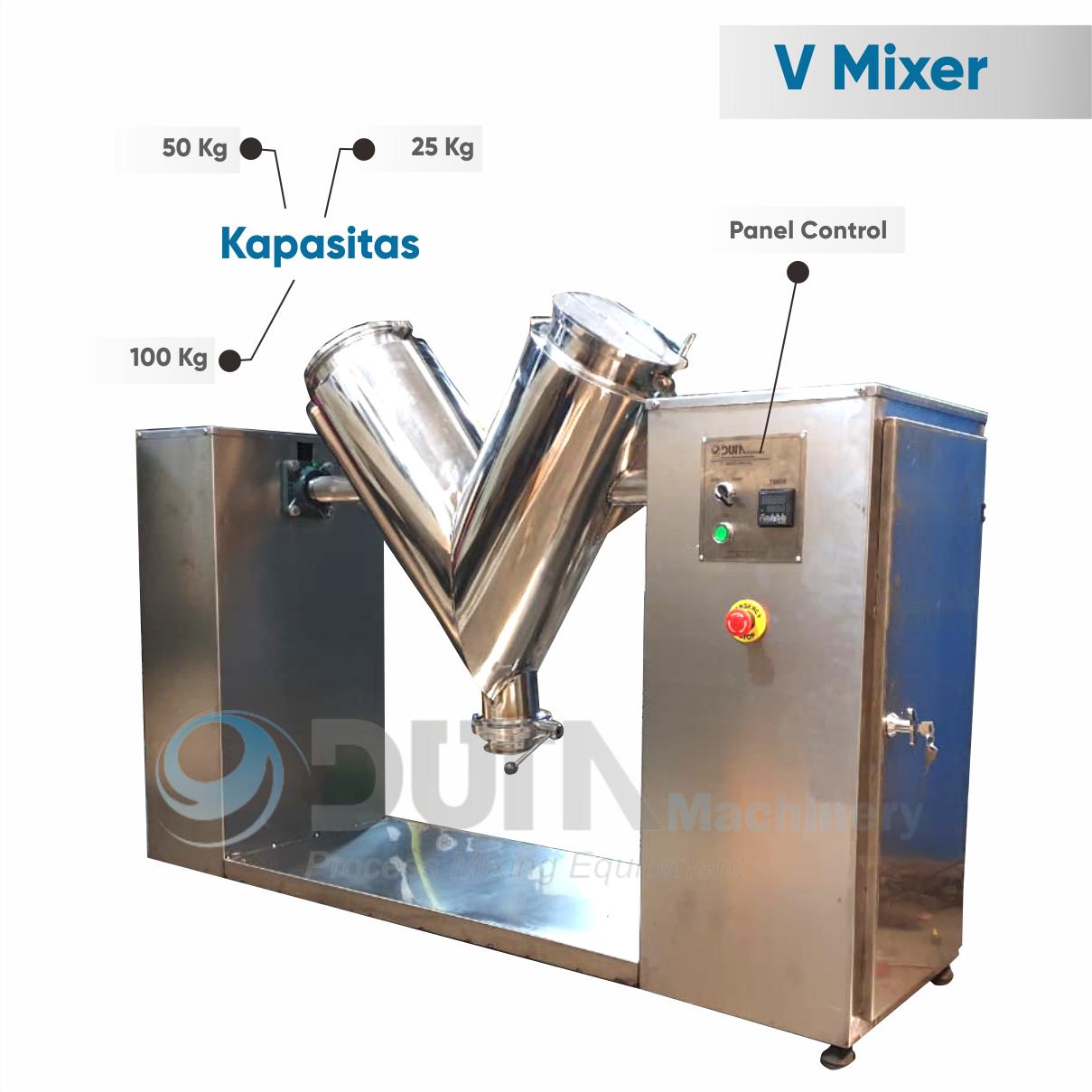 mesin v mixer